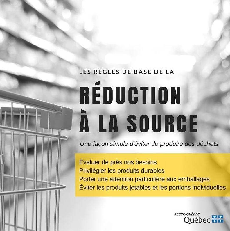 Les règles de base de la réduction à la source