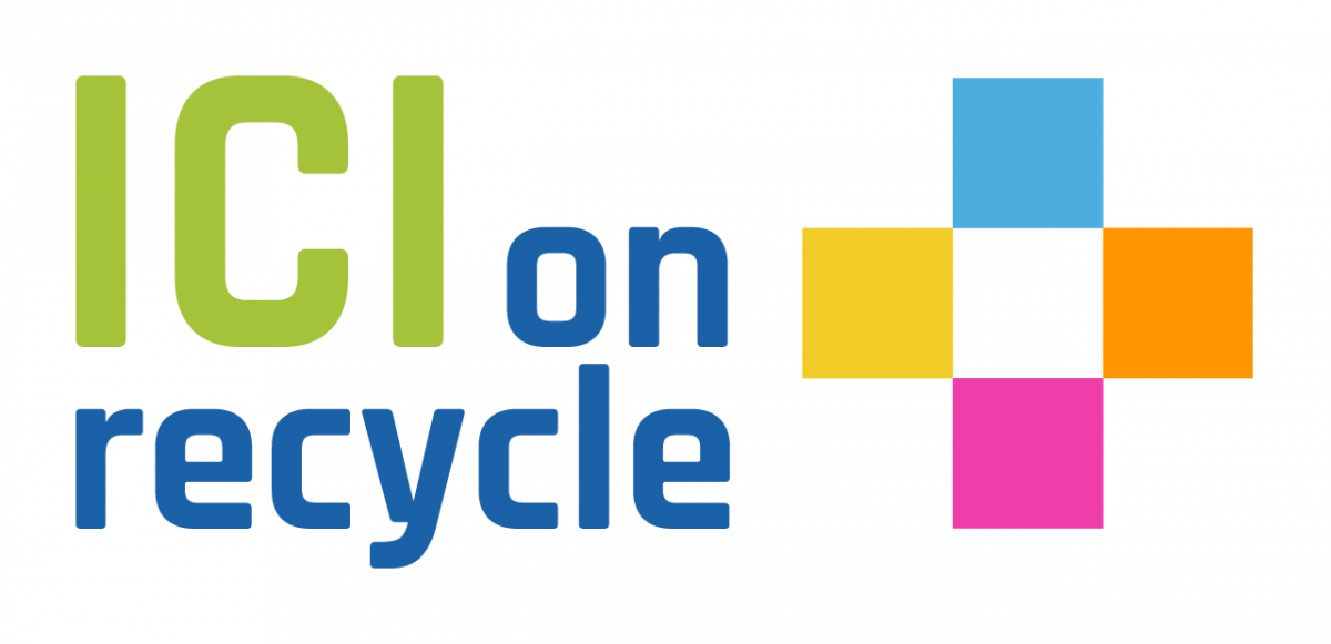 Logo ICI on recycle +