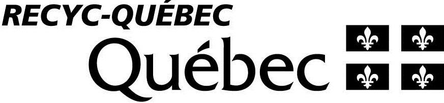 Logo RECYC-QUÉBEC noir et blanc
