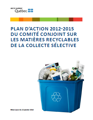 Image de la page couverture du plan d'action