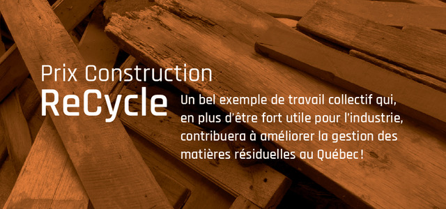 Prix Construction ReCycle