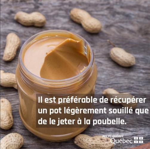 Image d'un pot de beurre de peanut